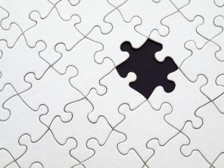 Puzzle missing a piece