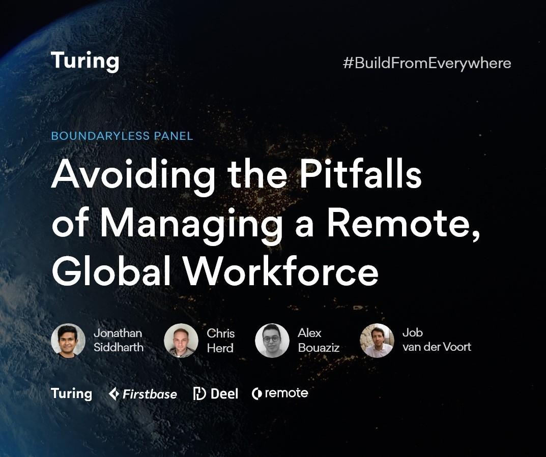 Chris Herd, Job van der Voort, Alex Bouaziz Speak at Turing Event