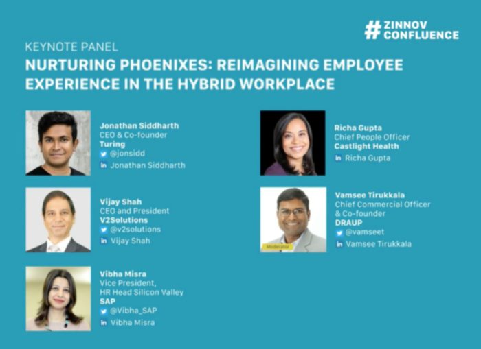 Zinnov Confluence: Panelists discuss employee experience in the hybrid workplace
