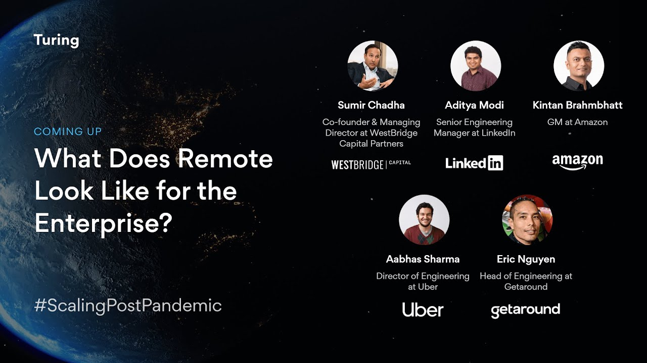 What Does Remote Look Like for Amazon, LinkedIn, & Postmates?