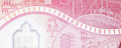 Alan Turing birthday written in binary on banknote released in June Pride Month 2021