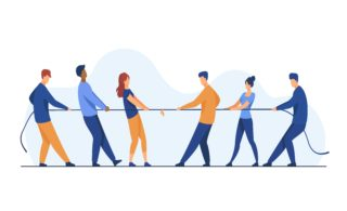 Employers and employees in a remote work tug of war